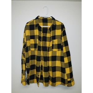 "H&M ""Divided"" Button-Down Flannel"
